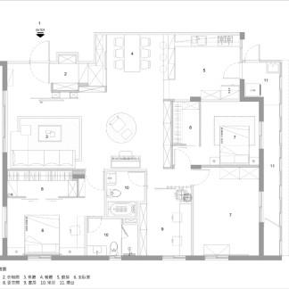 復興蔡宅PLAN-0720-平面P-01