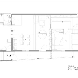 新店Liu's house-平面P-01