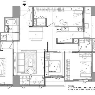 F-house-PLAN 平面